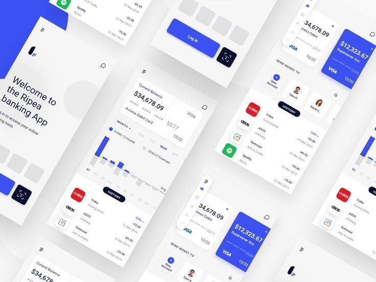 Online Banking App App Banking Online Banking App App Design App