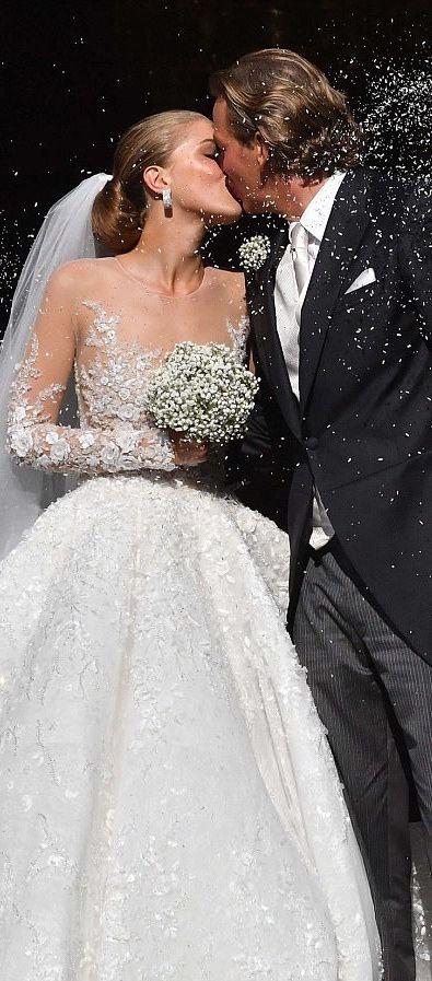 Million dollar swavorski wedding dress