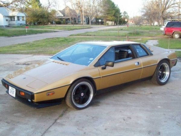 "1980 Lotus Esprit with Ford SHO = ""SHOtus"""