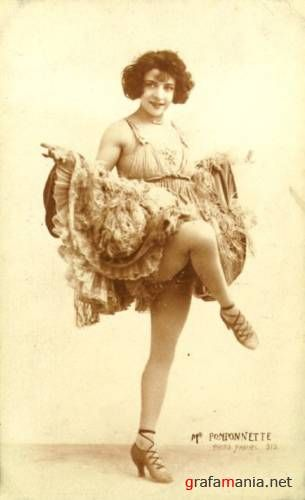 Старинные фотографии: балерины и танцовщицы