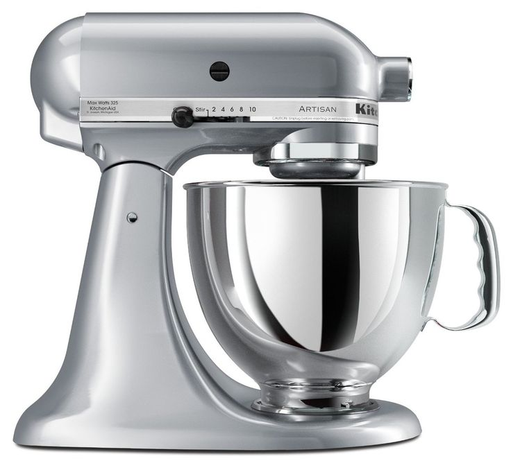 Amazon.com: KitchenAid KSM155GBAZ 5-Qt. Artisan Design Series with Glass  Bowl - Azure Blue: Electric Stand Mixers: Kitchen & Dining