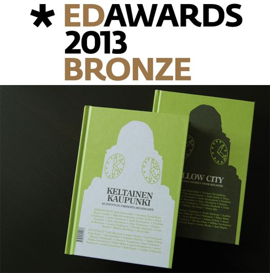 Yellow City – Illustrated Stories From Helsinki won a bronze prize in European Design Awards 2013!