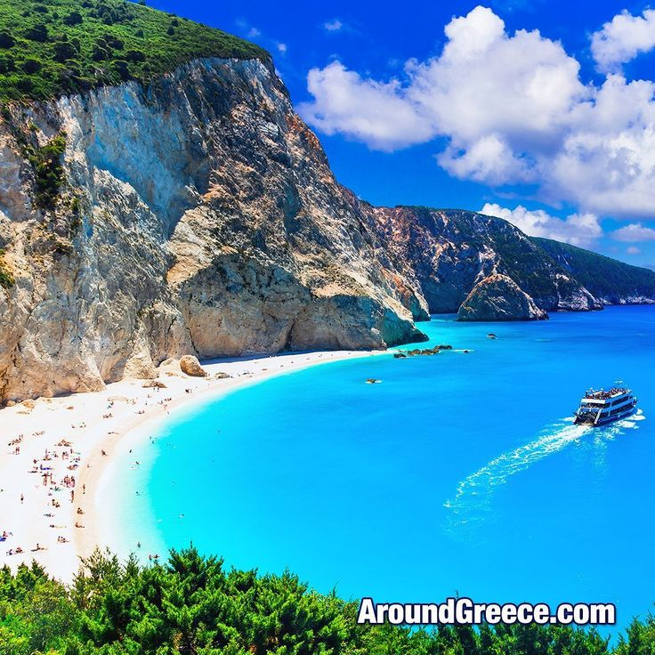 """Would """"Porto Katsiki Beach"""" in Lefkada be on your list of the most beautiful beaches in Greece ?  #PortoKatsiki #Lefkada #Greece #Greekislands #Ionian #holidays #travel #vacations #beaches #aroundgreece #visitgreece #Λευκαδα #Ελλαδα #ΕλληνικαΝησια #διακοπες #ταξιδια"""