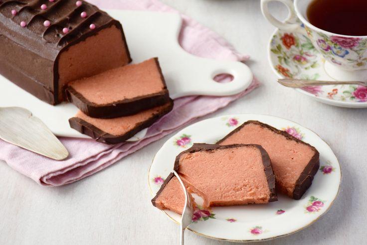 Gâteau aux biscuits roses de Reims de ma grand-mère & son glaçage craquant au chocolat - FashionCooking