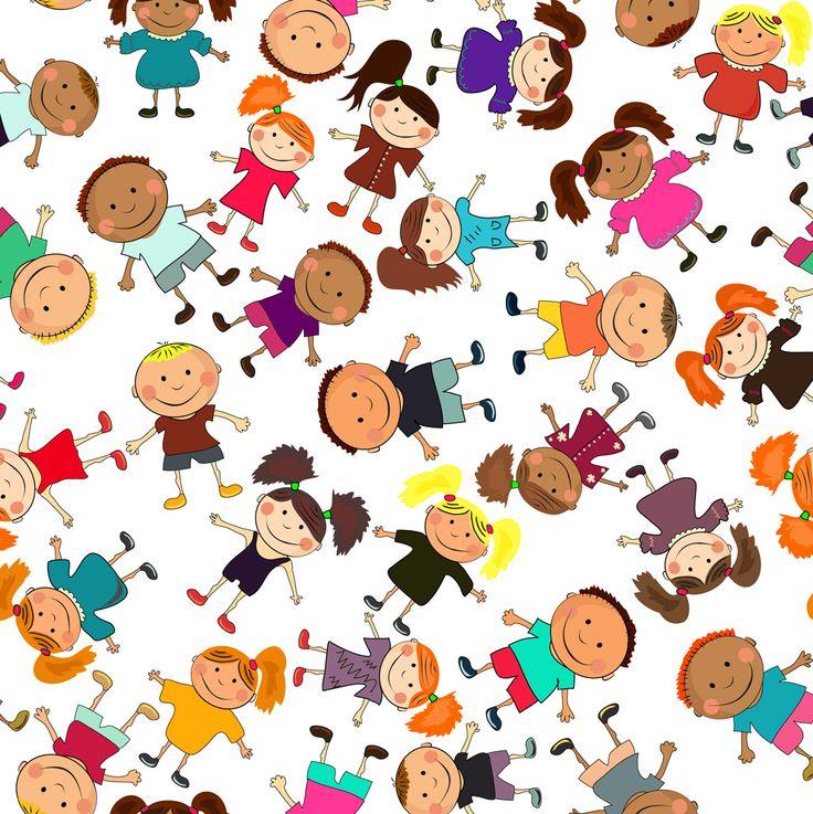 [フリーイラスト素材] イラスト, 人物, 子供, 少年 / 男の子, 少女 / 女の子, 集団 / グループ ID:201312120900