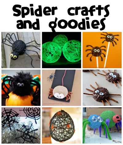 Spider Crafts & Recipes - Fun Family Crafts