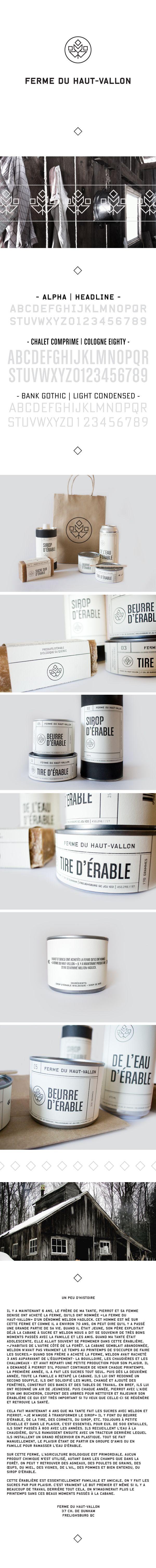 Ferme du Haut-Vallon by Eliane Cadieux, via Behance Time for a bath identity packaging branding PD
