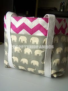 Tote Tutorial.  May be a bit ambitious but I'd love to make 4 of these for end of school teacher gifts.
