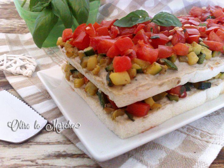 Tiramisù+salato+di+verdure