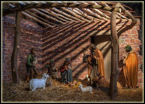 Nativity Scene -)