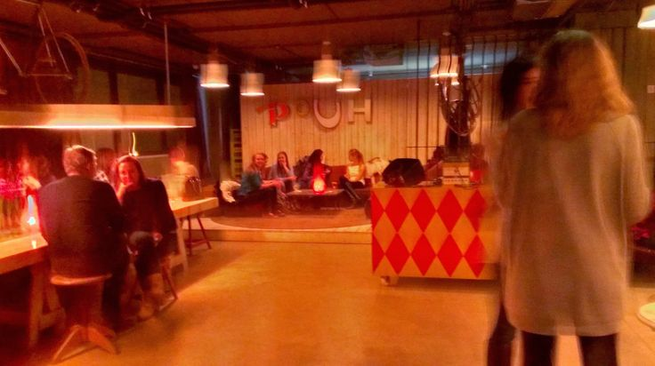 The attic bar/der dachboden at 25hours Hotel in Vienna