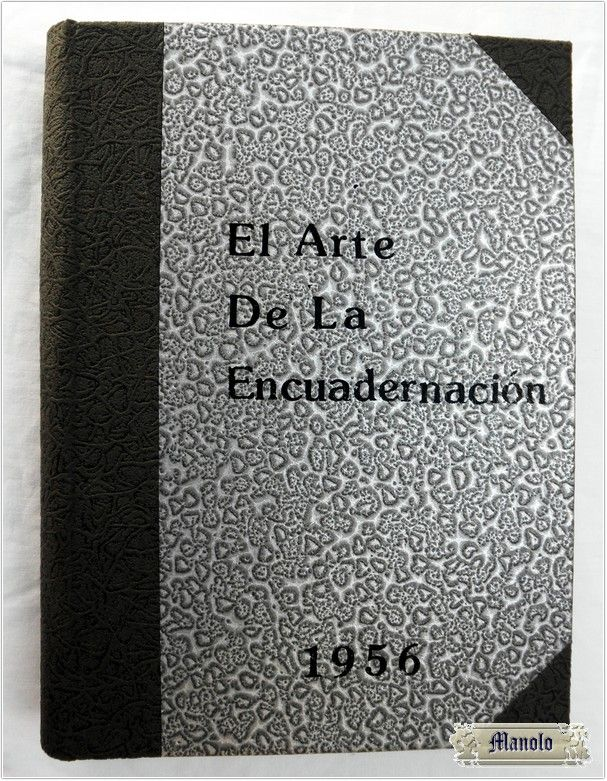 El arte de la encuadernación Bookbinding http://petry.es/category/manolo/encuadernacion/