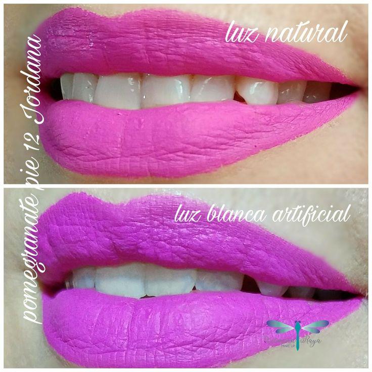 Os muestro otro tono de los Sweet Cream de Jordana. Es el Pomegranate Pie 12. Con distintas luces lo vemos más morado o más rosado. Sea chino sea, es un labial muy potente que marca mucho el look y que francamente, veo más para verano ..verano. @jordana_cosmetics @maquillalia #sweetcreammattejordana #jordana #pomegranate #pomegranatepie #labiales #labialesfijosmate #labial #labialeslowcost #lipsstick #labialesliquidos #clon #clones