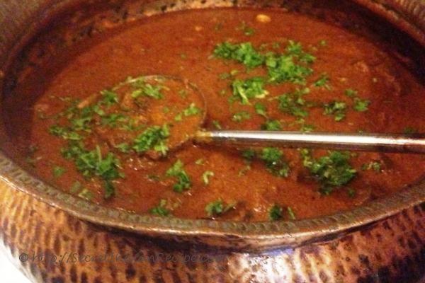 A traditional Kolhapuri Mutton Masala.