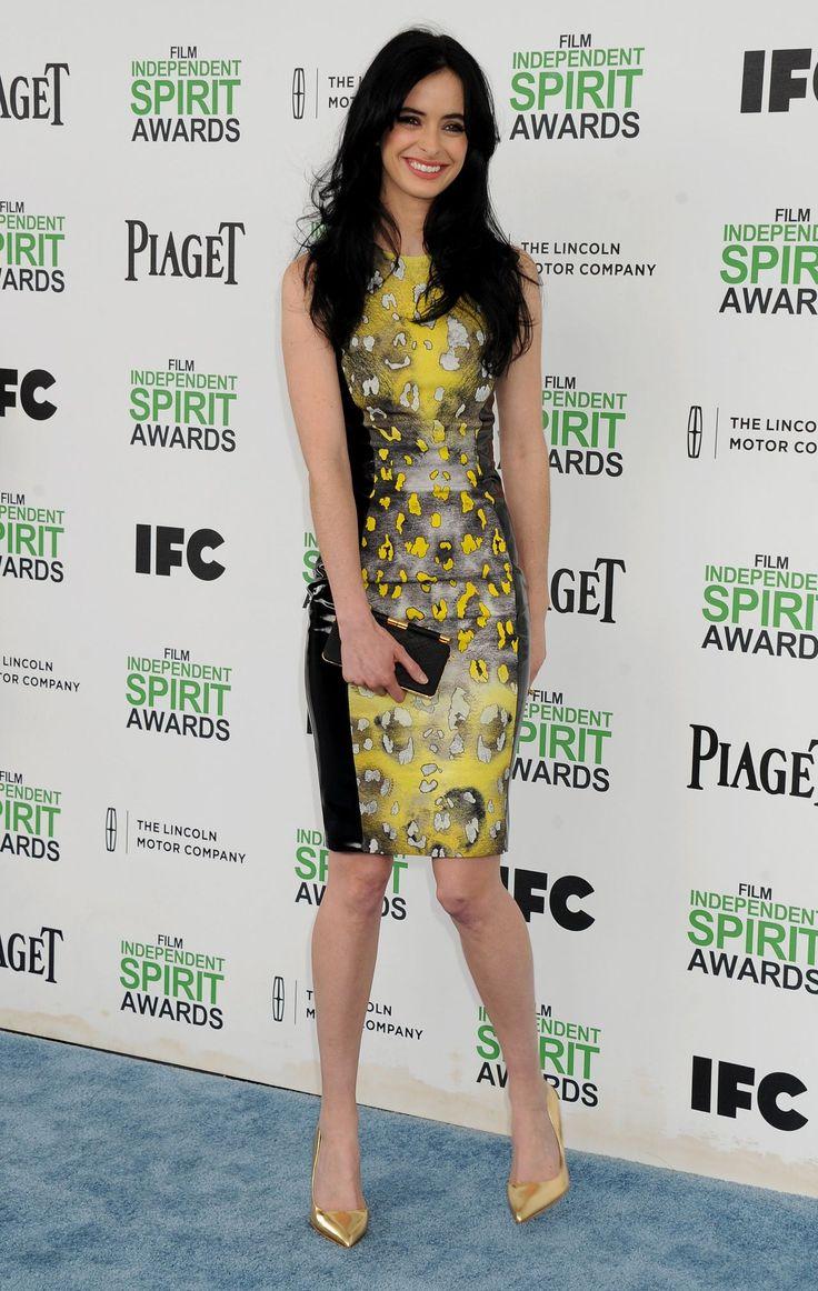 Krysten Ritter Wearing Versace Mini Dress 2014 Film