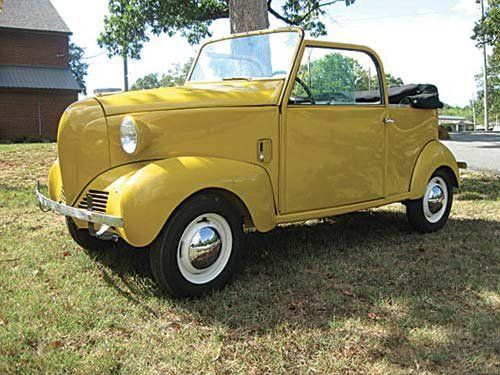1940 Crosley Noddy Cars Cars Classic Cars Vehicles