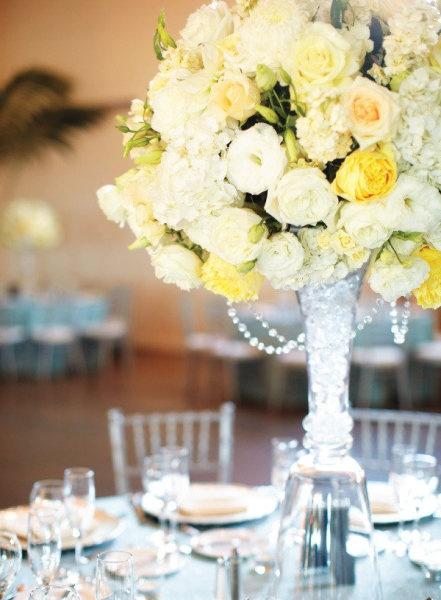 Glass base wedding ideas pinterest centerpieces