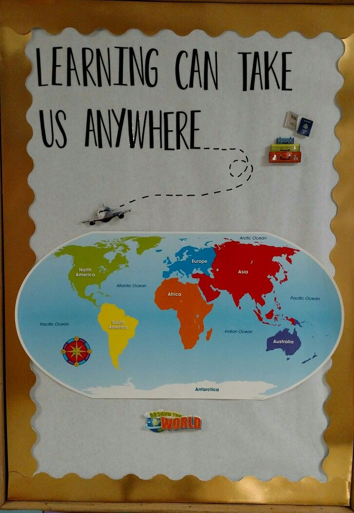 Classroom Ideas Beach Theme ~ Best travel bulletin boards ideas on pinterest world