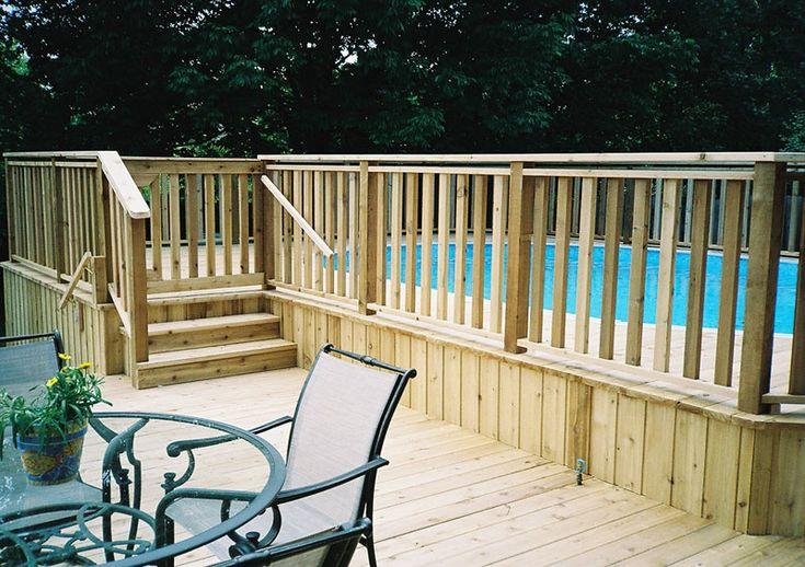 Cedar & Trex Composite Deck Contractor in Chicagoland | Rustic Fences