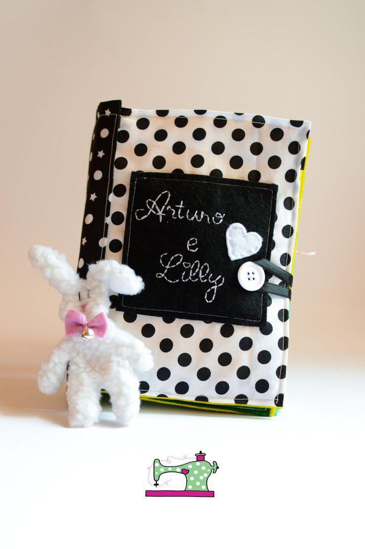 Quiet Book personalizzato - Quiet Book con storia personalizzata - Busy Book da personalizzare - Libro sensoriale montessori - Favola di IlFioccodiIleana su Etsy