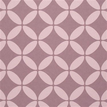 Puce circular symmetrical geometric home wallpaper R2538