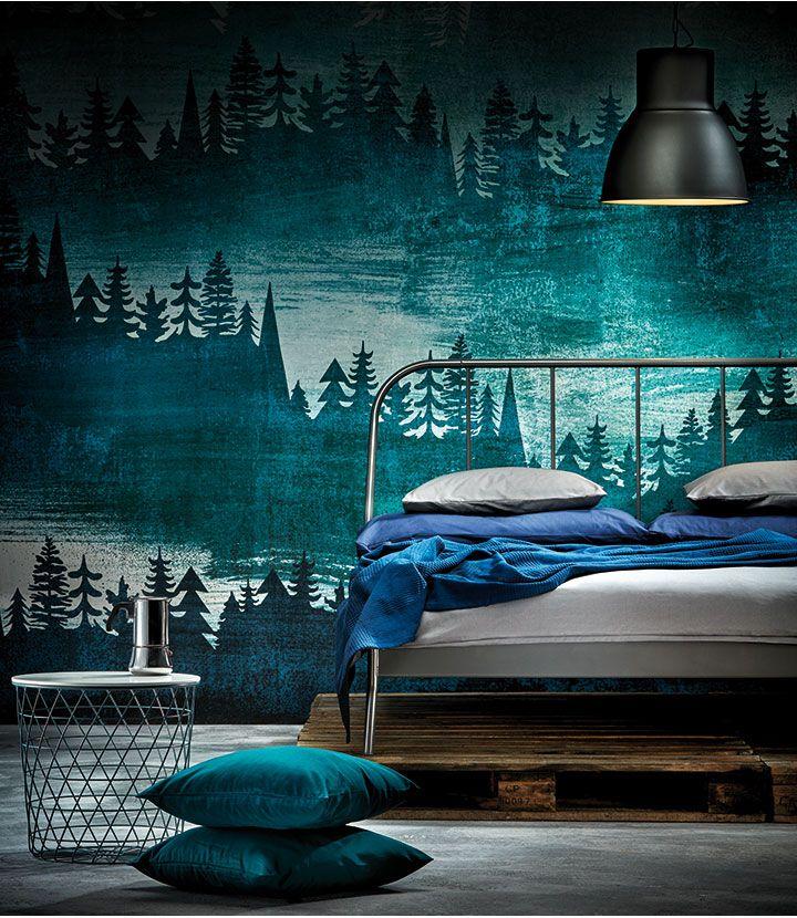 386 best IKEA Schlafzimmer u2013 Träume images on Pinterest Wall - schlafzimmer ikea