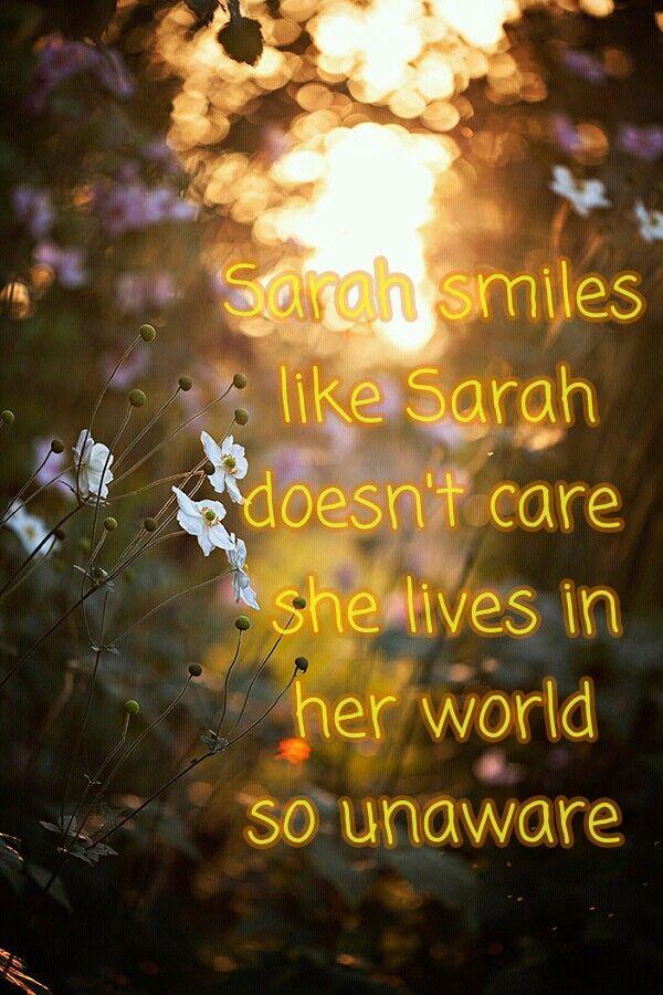 Panic at the disco sarah smiles