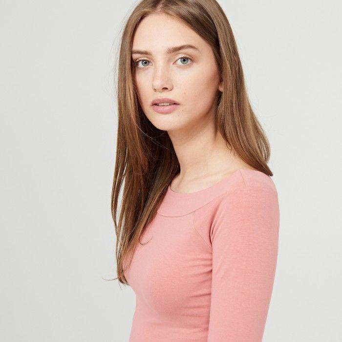 Tričko s polokulatým výstřihem, CROPP