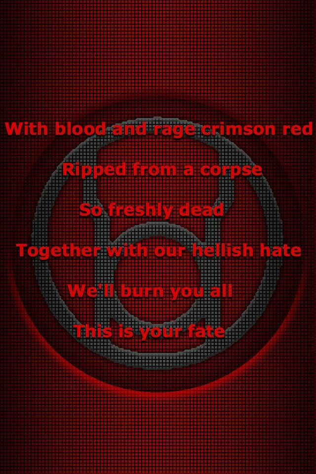 Red Lantern corps oath