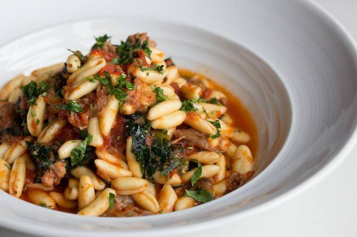 Cavatelli pasta with braised lamb, tomato, basil & broccolini #Oakville #Restaurant #Food #Italian #Cucina