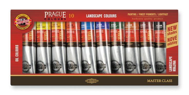 libovolné olejové, temperové, akrylové, vodové barvy, pastelky, tužky, gumy, skicáky... veškerý umělecký sortiment