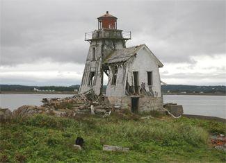 Grand Harbour (Ross Island) Lighthouse, New Brunswick Canada