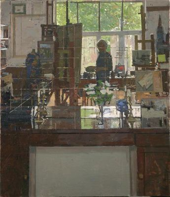 Ken Howard - Self Portrait