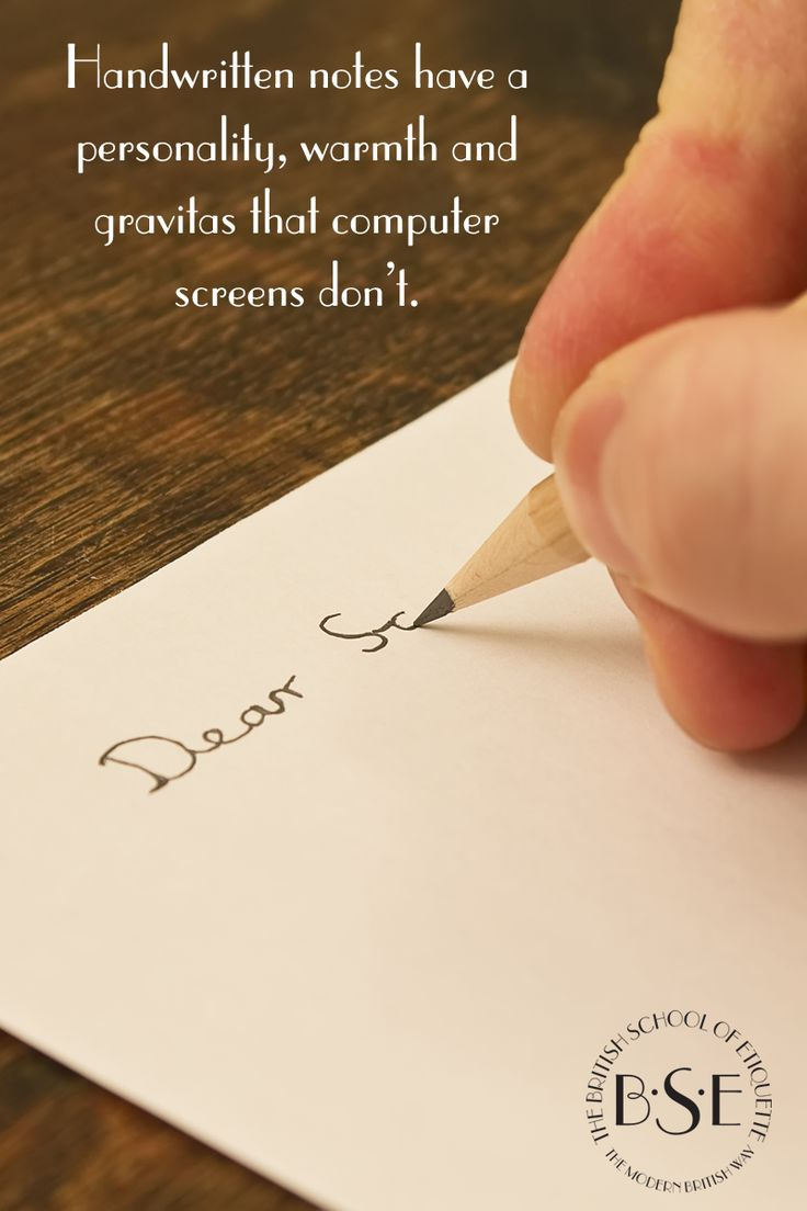 The written thank-you note shows your appreciation as much as the words you write.