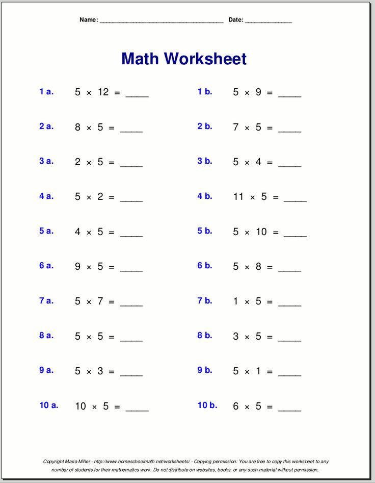best 25 multiplication worksheets ideas only on pinterest multiplication practice 12 times. Black Bedroom Furniture Sets. Home Design Ideas