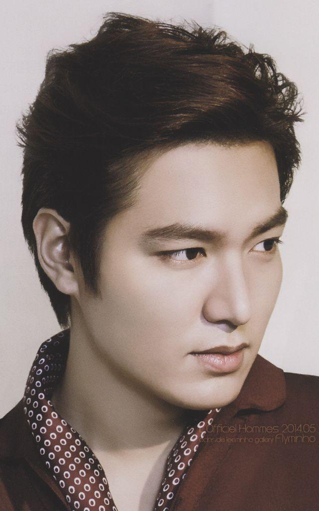 Lee Min Ho, L'Officiel Hommes, edit by flyminho.
