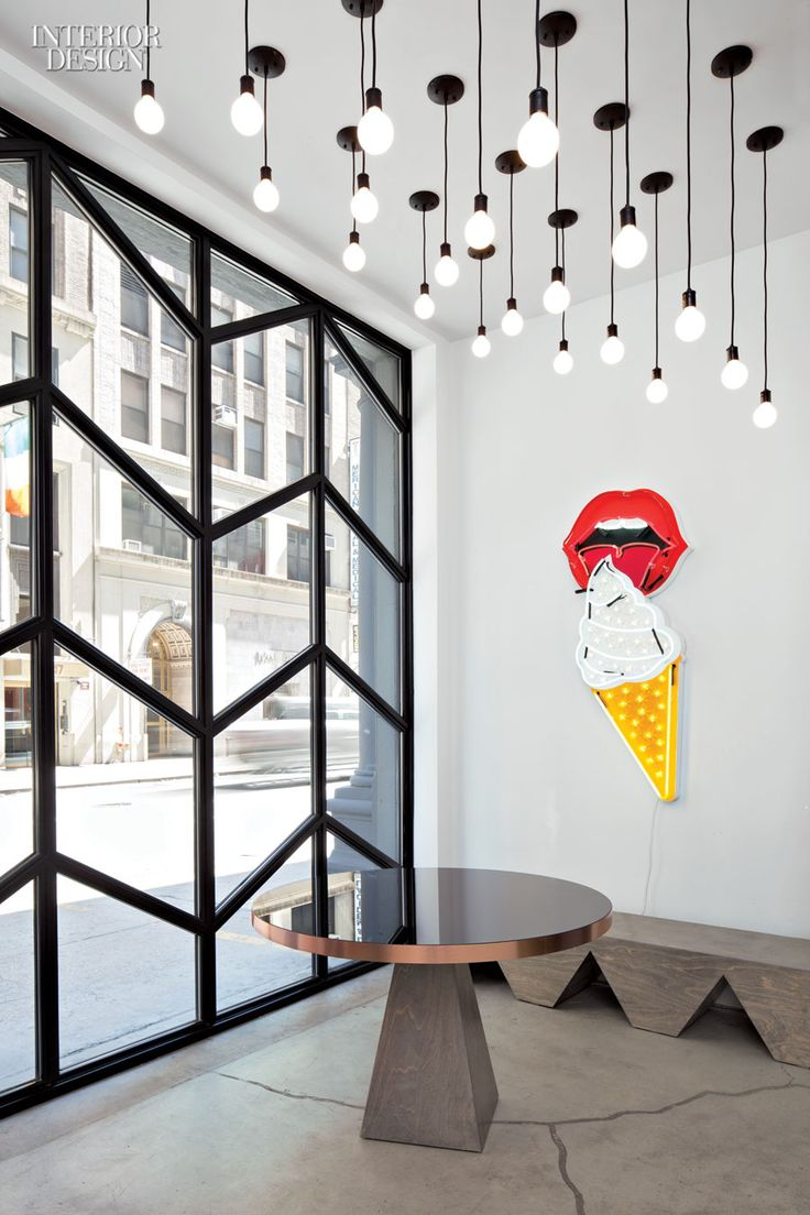 interiordesignmagazine:  When the tech and media company Black Ocean acquired a four-story, 6,500-square-foot firehouse in New York, Rafael ...