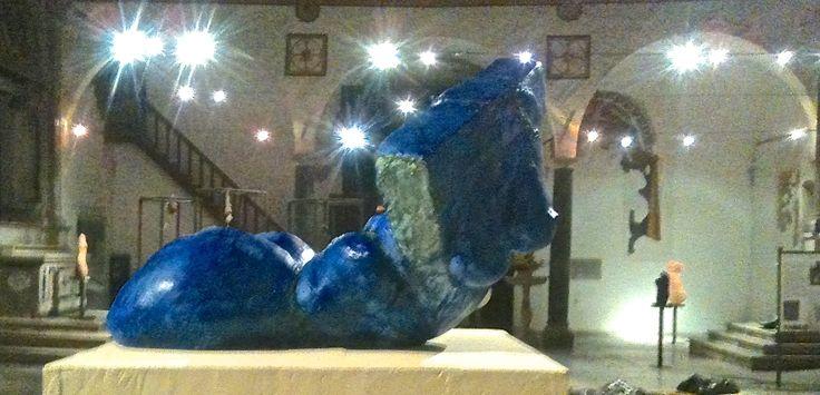 """LaMer""2014.plaster coloured. MajdSculpture"