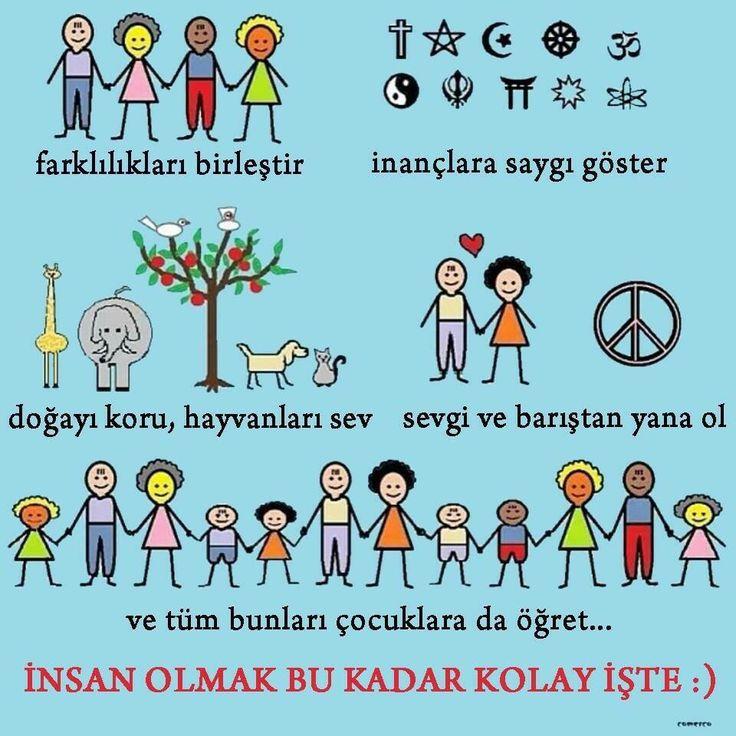 Insan olmak bu kadar kolay... Dünya Barış Günü