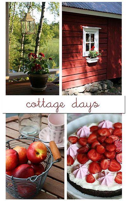 summer...cottage days