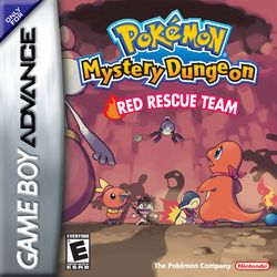 Pokemon Mystery Dungeon Red Rescue Team GBA ROM - http://www.ziperto.com/pokemon-mystery-dungeon-gba-rom/