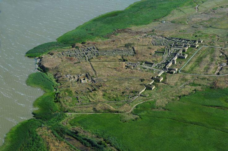 Histria citadel remains