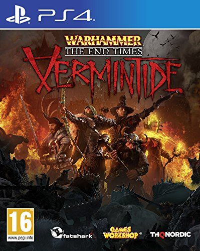 Nordic Games Warhammer: End Times - Vermintide (PS4) No description (Barcode EAN = 9006113009085). http://www.comparestoreprices.co.uk/december-2016-3/nordic-games-warhammer-end-times--vermintide-ps4-.asp