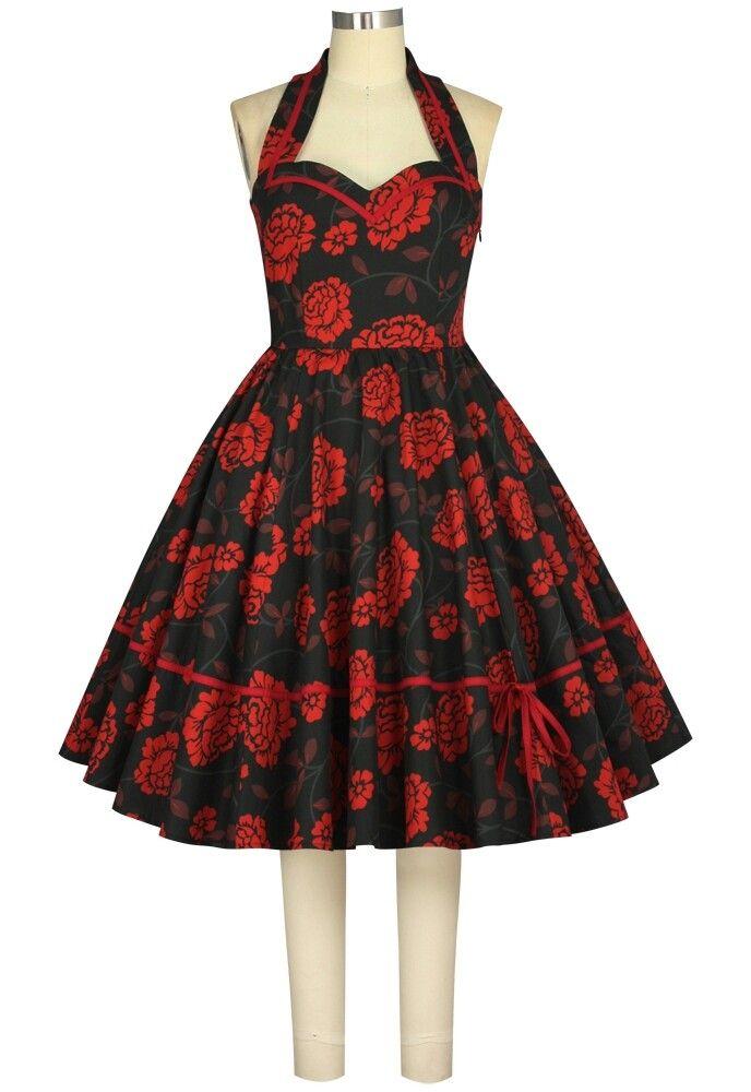 ChicStar - Retro Dress design Amber Middaugh Print Julie Rojas