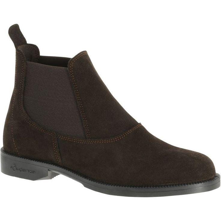 EQUITAÇÃO - calçado Mulher   - Botins Equitação CLASSIC ONE FOUGANZA - Calçado