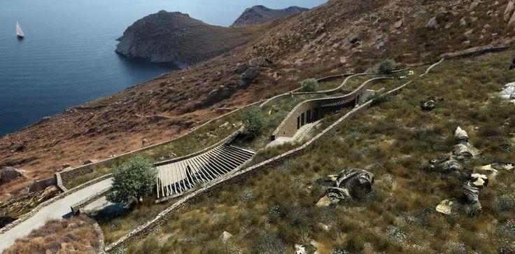 XEROLITHIA SUMMER HOUSE, SERIFOS ISLAND, GR – BY SINAS ARCHITECTS