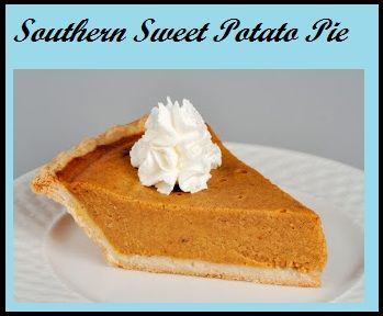 Southern Sweet Potato Pie on MyRecipeMagic.com:   This pie was delicious! I tried this recipe and it was the best sweet potato pie I have ever made. This is definitely a recipe to keep. Thumbs up!!!