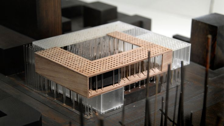 Proposal for the new Berkeley Art Museum and Pacific Film Archive by allied works