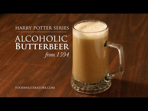 Harry Potter Alcoholic Butterbeer | In Literature