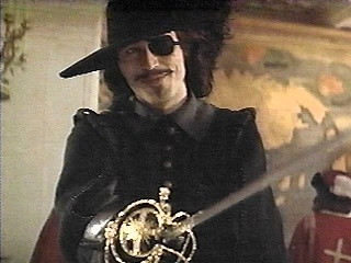 """Michael Wincott as Rochefort in the Disney version of """"The Three Musketeers""""."""